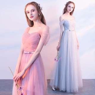 Preorder Back Tie Prom Dress/ Dinner Dress