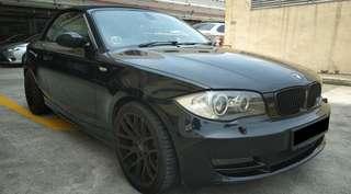 BMW 1 Series 120i Cabriolet (New 10-Year COE)