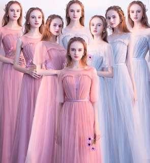 Preorder Ruffle Prom Dress/ Dinner Dress