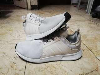 Adidas XPLR All White Shoes Size 9.5
