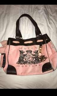 Juicy Couture handbag (with free keychain)