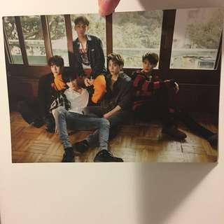 Shinee poster / postcard 💗 official