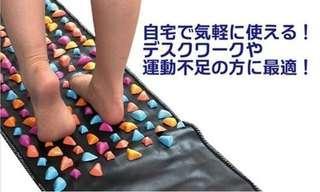 代購 日本熱銷 足底穴位按摩 步行墊