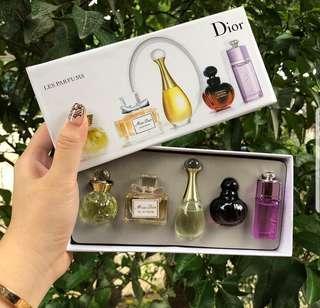 Pafume Mini Dior 5pcs Ori Singapore