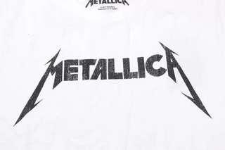 🚚 全新 日本 semantic design, Metallica 樂團 tee Size:S