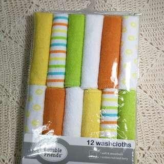 Handkerchiefs 12pcs orange lime