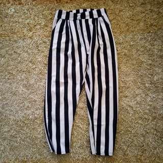 Stripes soft pants