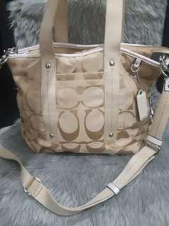 Auth Coach 2 way bag