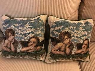 Angel pillows
