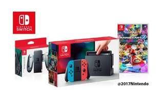 全新 Switch + Mario Game