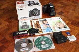 Canon 550D | 18mp with HD video