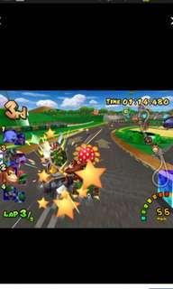 《原廠、正貨,9成新》Nintendo GameCube MarioKart Double Dash!! 2CD (孖寶兄弟賽車) Excellent game for families & friends gathering.  Best of the best! 100% Original  https://en.m.wikipedia.org/wiki/Mario_Kart:_Double_Dash  Made in USA 🇺🇸  美國製造. Great deals