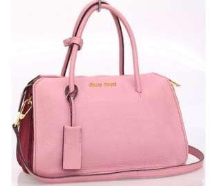 Fast Sale brand new Authentic Miu Miu RL103C Madras Hangbag