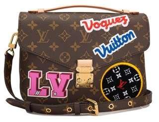 Louis Vuitton Monogram Patches Pochette Metis