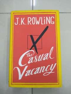 Novel- JK Rowling's The Casual Vancancy