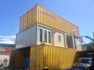 40 footer empty container van