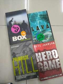 Novel- Assorted Thriller Books