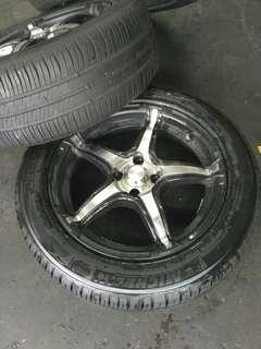 "16"" Sport Rim with Michelin Tyre"