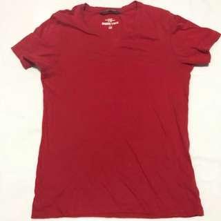 H&M Red V-neck