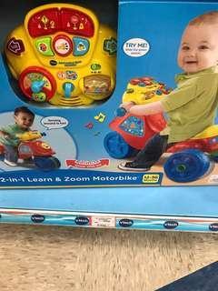 Vtech 車BB玩具車八成新有小花痕