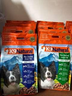 K9 Natural Beef/ Lamb Freeze Dried