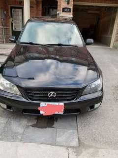 2003 Lexus IS300 (Sports Edition, automatic/tiptronic).