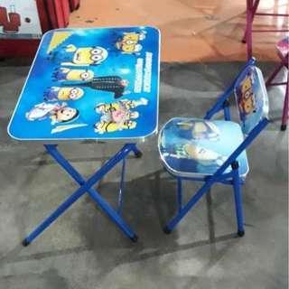kids study desk set / set meja belajar kanak kanak