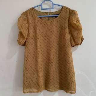 Cole - blouse (brown)