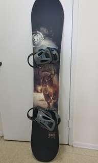 Never summer snowboard