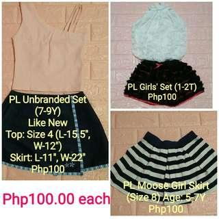 PL Girls' Clothes