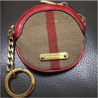 authentic Burberry coin wallet