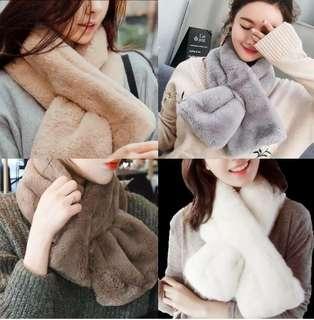 冬季毛絨絨圍巾  HK$50 一條 不包運費