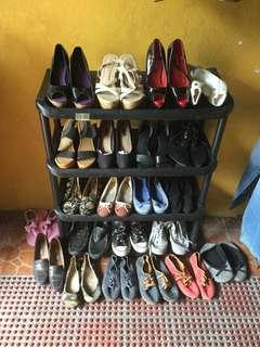 Garage sale - women and men's shoes