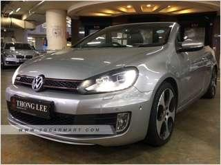 Volkswagen Golf GTI Cabriolet 2.0 Auto TSI DSG