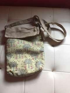 Sling bag hand made craft