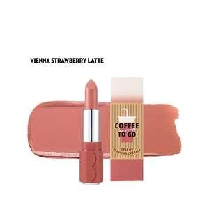 🚚 Etude House Dear My Blooming Coffee To Go Lipstick - Vienna Strawberry Latte