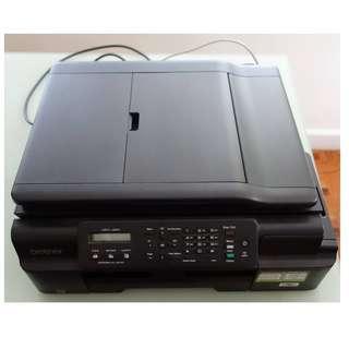 Brother Printer MFC-J200 Print Scan Copy Fax