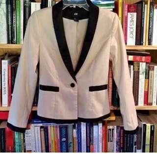 H&M tuxedo jacket