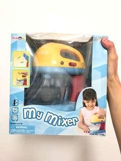 蛋糕麵粉攪拌機 玩具版 mini mixer