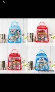 🚚 // CLEARANCE // Brand New Mickey / Spiderman / Lightning McQueen Car / Baymax 10 / Big Hero / Pokémon / Doraemon Stationery Sets