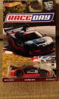 Hotwheels NSX Advan Raceday not tarmac tomytec tomica tiny 微影
