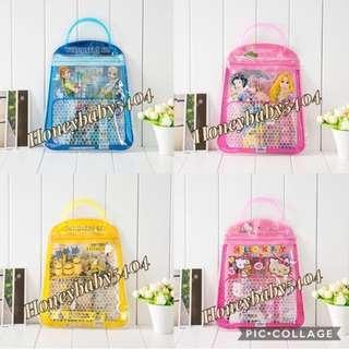 🚚 // CLEARANCE // Brand New Frozen / Princess / Hello Kitty / Minions / Pokémon Stationery Sets