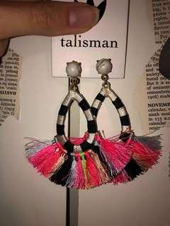 Gorgeous Talisman Earrings