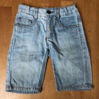 [SOLD] ESPRIT Blue Denim Jeans Shorts / Pants for Boys size 3T