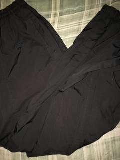 Black Reebok Track pants