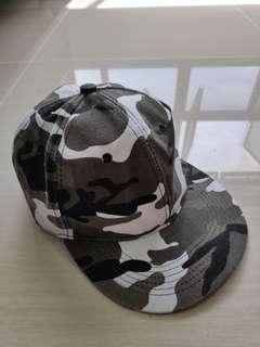Grey Camo Cap