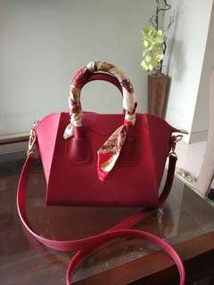 Red jelly bag