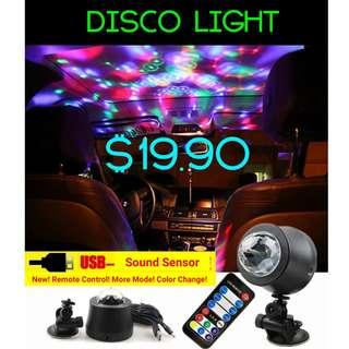 Mobile Disco Light Car Home Party Use Mobile (Powered By USB)