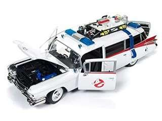 Hot Wheels Ghostbusters Ecto-11:18 Scale