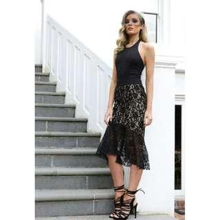 MADISON SQUARE SLEEPLESS NIGHTS LACE SKIRT NEW XS / S / L AVAILABLE